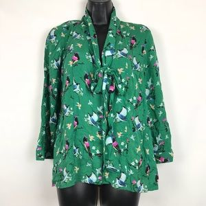 Conversations by Anthropologie Jade Blouse